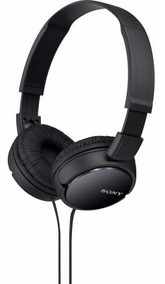 Fone Ouvido Preto Sony Mdr-zx110 Zx110 Headphone Original