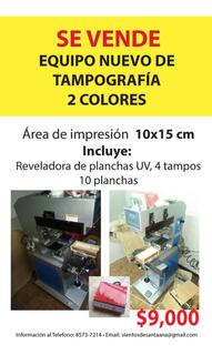 Tampografia, Impresión 2 Colores