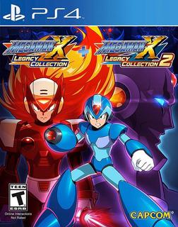 Megaman X Legacy Collecion Para Ps4 Nuevo Envio Gratis