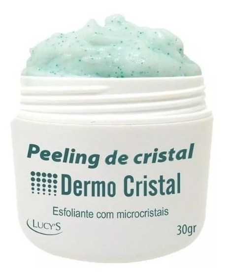 Peeling De Cristal Esfoliante Micro Cristais Frete Grátis