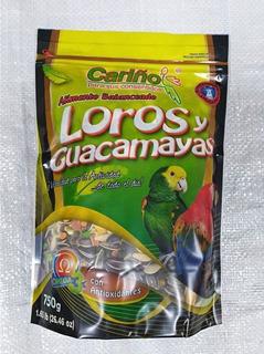 Alimento Para Loros Y Guacamayas Cariño 750grs