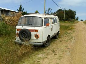 Volkswagen Kombi Casa Rodante 3300usd+deuda Tratt.