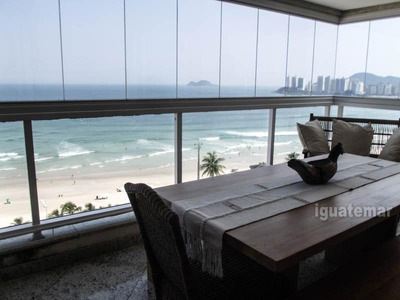 Apartamento Frente Ao Mar No Guaruja Altissimo Padrao - P5446mll