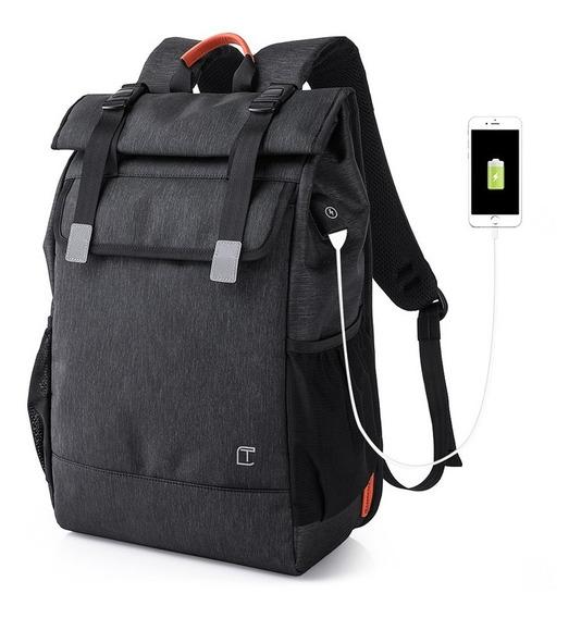 Mochila Impermeável Para Notebook Macbook Pro iPad Luxo 28l