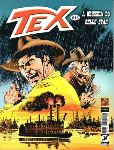 Tex 615 - Mythos - Bonellihq Cx359 B21
