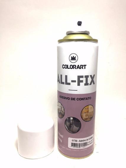 Cola Adesivo De Contato Spray Colorart All-fix 300ml Forte