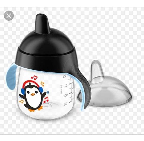 Copo De Treinamento Pinguim Phillips Avent Preto 260ml