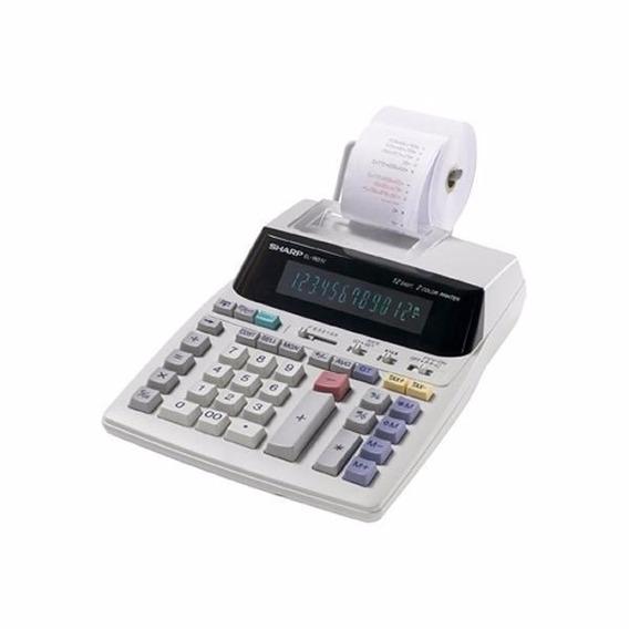 Calculadora Com Impressora Sharp El-1801v
