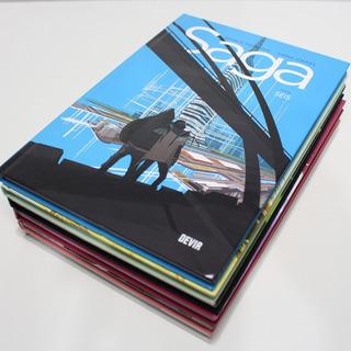 Coleção Hqs Saga Volume 1 2 3 4 Devir Português