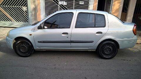 Barato Clio 2001 1.0 16v Bem Conservado - 2ºdono - Chave Res