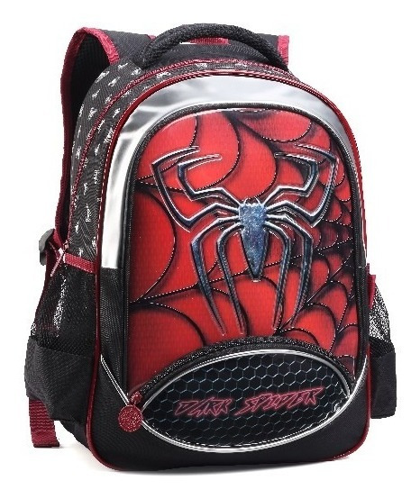 Mochila Escolar Infantil Dark Spider - Denlex ( Dl0629 )