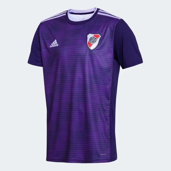 Camiseta River Plate 2018 2019 Nueva Niños Violeta