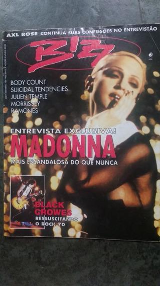 Revista Bizz Madonna Edição 88