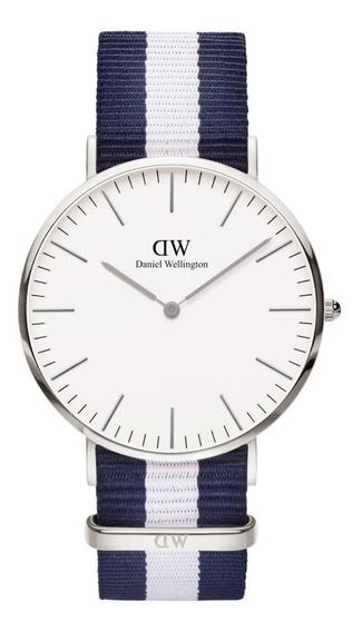 Reloj Unisex Daniel Wellington Classic 40 Glasgow S White