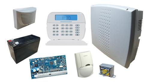 Kit Alarma Dsc Power Series Neo Cableada Programada