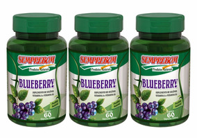 Blueberry Mirtilo Semprebom 180 Capsulas 550mg Antioxidante