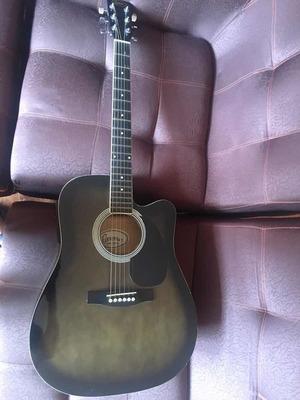 Guitarra Italy Florencia Guitars Con Su Estuche