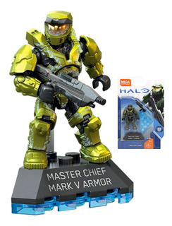 Mega Construx Master Chief Mark V Armor Halo