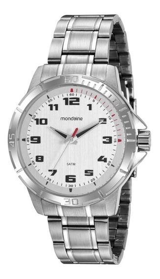 Relógio Masculino Prata Mondaine Original