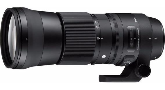 Obj. Sigma 150-600mm F/5-6.3 Dg Os Hsm Contemporary P/ Nikon