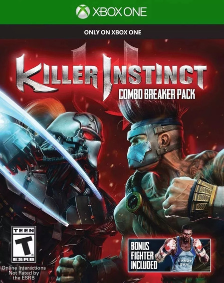 Killer Instinct Xbox One (lacrado!)