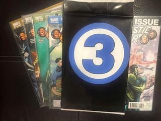 Lote Cómics Fantastic Four 583-588 Muerte De Antorcha Humana