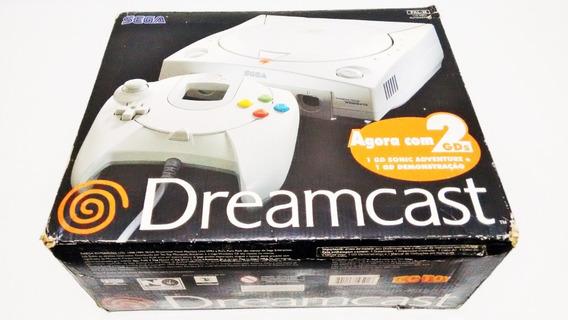 Dreamcast Original Tec Toy Na Caixa Bem Branquinho.