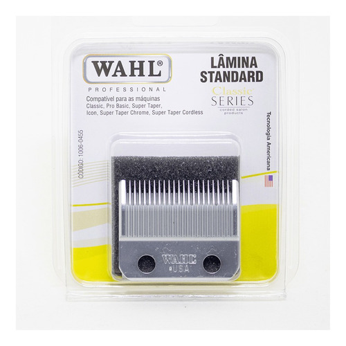 Lamina Wahl Classic Standard, 40mm Compatível Ediç 100 Anos