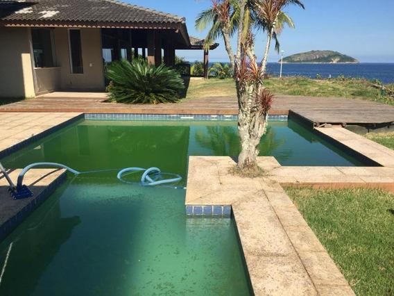 Mansão Luxuosa Com Lazer Espetacular, Na Melhor Localização No Picolé Em Praia De Camboinhas - Niterói - Ca0377