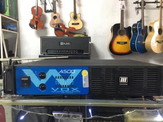 Amplificador De Potencia Machine Wvox A500