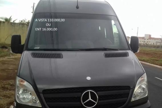 Mercedes Bens Splinter 415 Executiva 2014 Cor Cinza - K