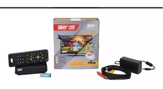 Receptor Sky Pré Pago Digital