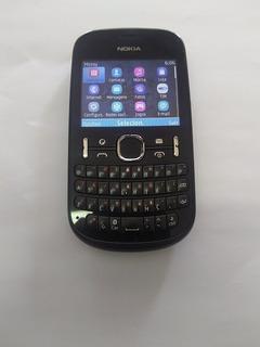 Celular Nokia Asha 201 ,semi Novo C\ Carregador