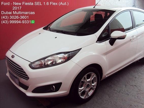 Ford - New Fiesta Sel 1.6 Flex (aut.) - Periciado - 2017