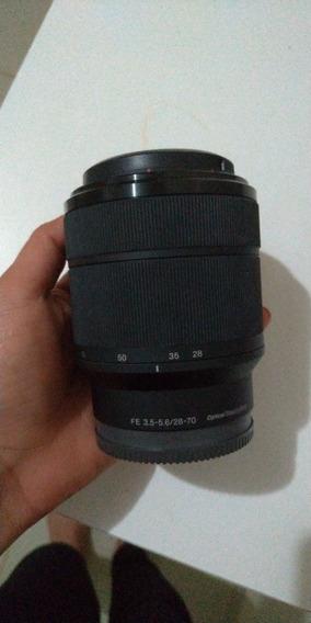 Sony Fe 28-70 3.5 5.6 (full Frame) - Pouco Usada