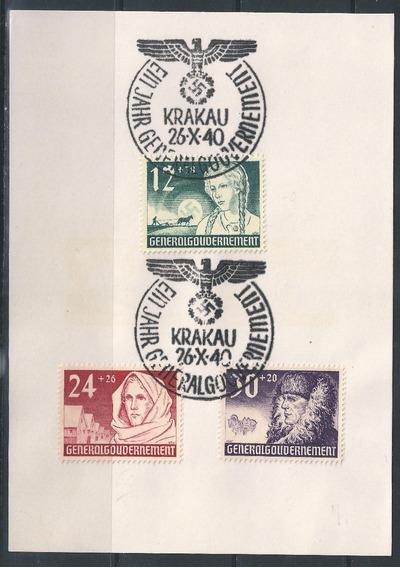 Alemania 3º Reich - Serie Conmemorativa Radom Polonia