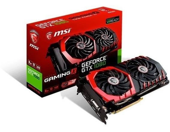 Placa De Vídeo Msi Geforce Gtx 1080 Gaming X 8g Gddr5x