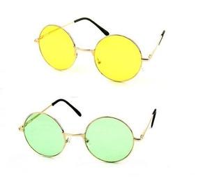 4a1adfb94 Oculos Redondo Colorido Barato De Sol - Óculos no Mercado Livre Brasil