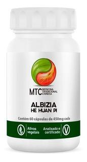 Albizia - He Huan Pi - 60 Cápsulas - Vitafor Mtc