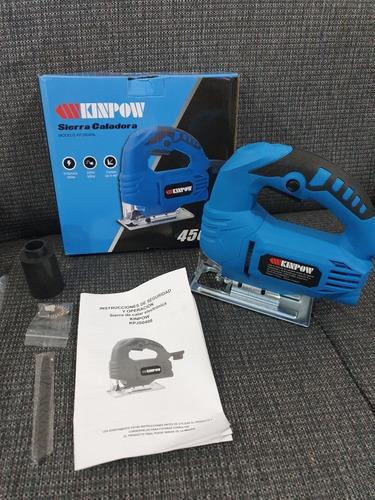 Sierra Caladora 450w Kinpow Envio Gratis