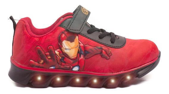 Zapatillas Atomik Marvel Smash Ironman-mvl013roj- Open Sport