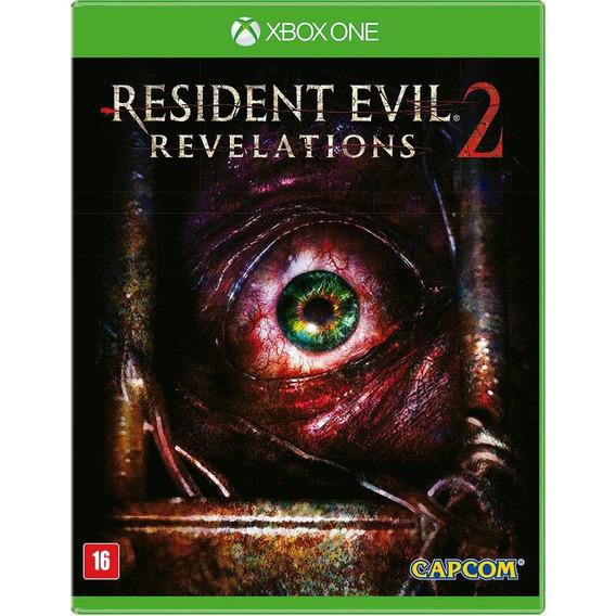 Jogo Resident Evil Revelations 2 Xbox One Disco Fisico Novo