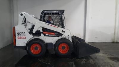 Minicarregadeira Bobcat S650 - 2014 - 2350hs - Aberta C/ Hf