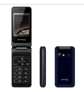 Celular Ipro V10, Basico Con Tapa, Teclas 2g, Flip