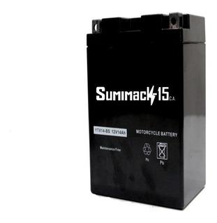 Bateria Sellada Para Moto Ytx14-bs 12v 14ah