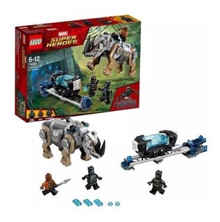 Lego Marvel Black Panther Bloques Juguetes Construcción Pp