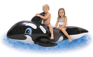Ballena Orca Flotador Grande Inflable Bestway 41009
