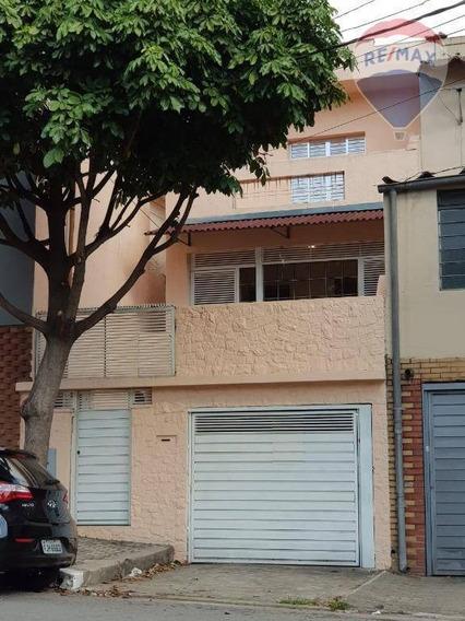 Casa Com 5 Dormitórios E 1 Vaga De Garagem - Saúde. - Ca1059