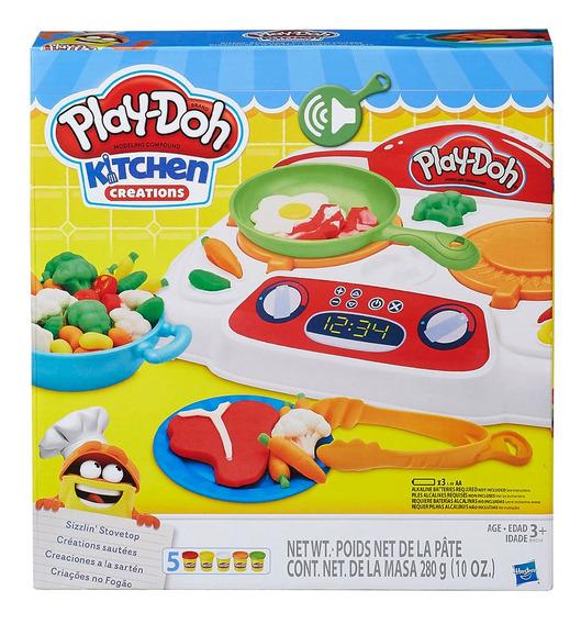 Kit De Masas Play Doh Creaciones A La Sarten Hasbro B9014