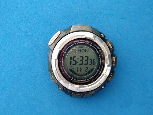 Relógio Casio Protrek Prg-130 Com Erro Leia Com Atenção